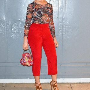 Josephine Chaus pants sz 8P 100% silk